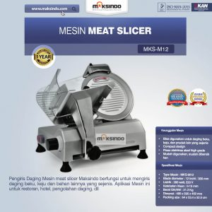 Jual Mesin Meat Slicer (MKS-M12) di Bandung