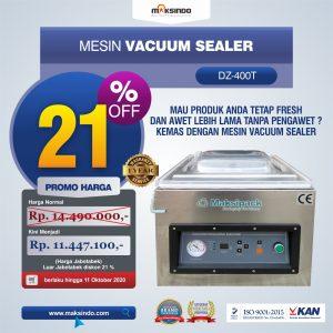 Jual Mesin Vacuum Sealer Singgle Seal (DZ400T) di Bandung