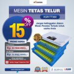 Jual Mesin Penetas Telur AGR-TT360 Di Bandung
