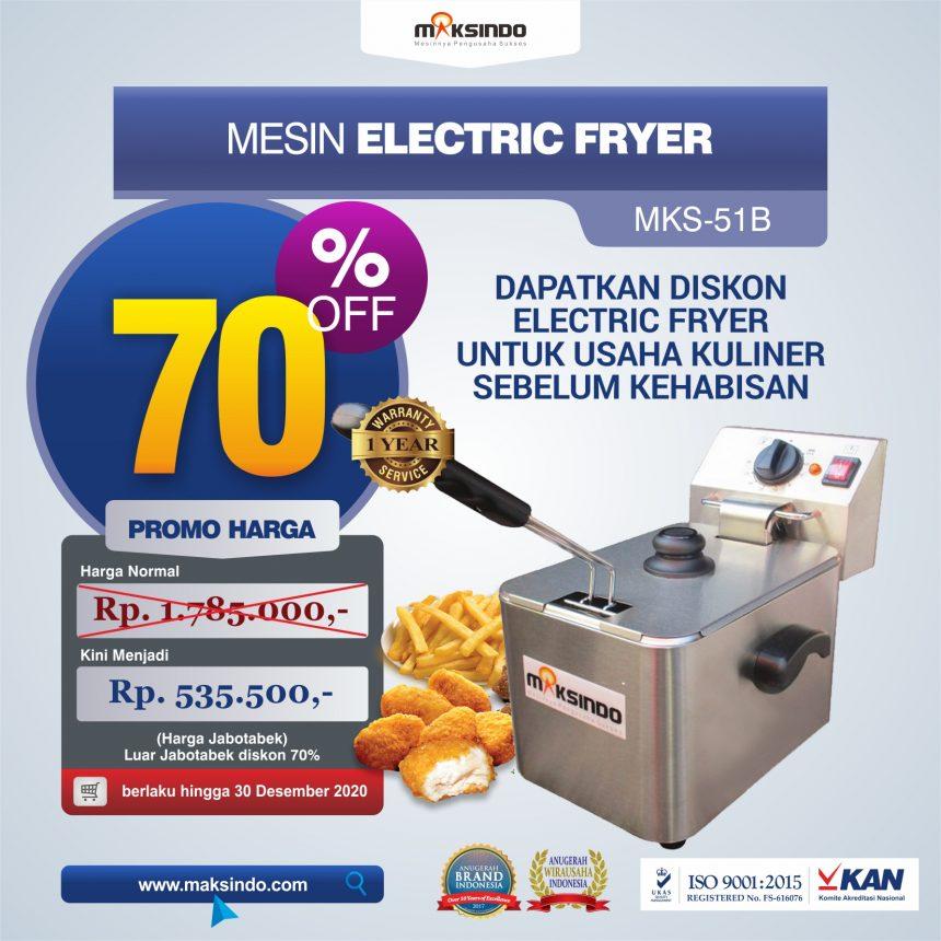 Jual Mesin Electric Fryer MKS-51B di Bandung