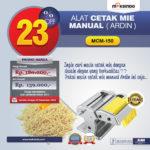 Jual Cetakan Mie Manual Rumah Tangga ARDIN di Bandung
