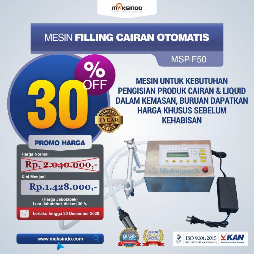 Jual Mesin Filling Cairan Otomatis di Bandung