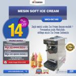 Jual Mesin Soft Ice Cream ISC-16S di Bandung