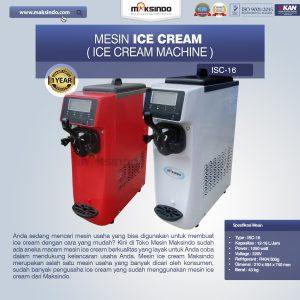 Jual Mesin Es Krim (Ice Cream Machine) ISC-16 di Bandung