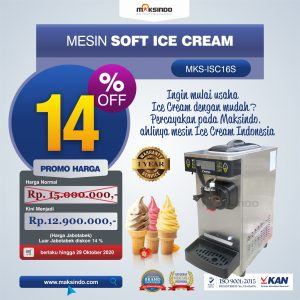 Jual Mesin Es Krim (Ice Cream Machine) ISC-16S di Bandung