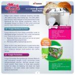 Jual Pembuat Roti (Bread Maker) ARD-BM66X di Bandung