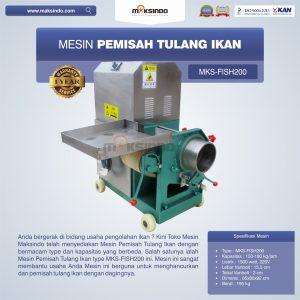 Jual Mesin Pemisah Tulang Ikan MKS-FISH200 di Bandung