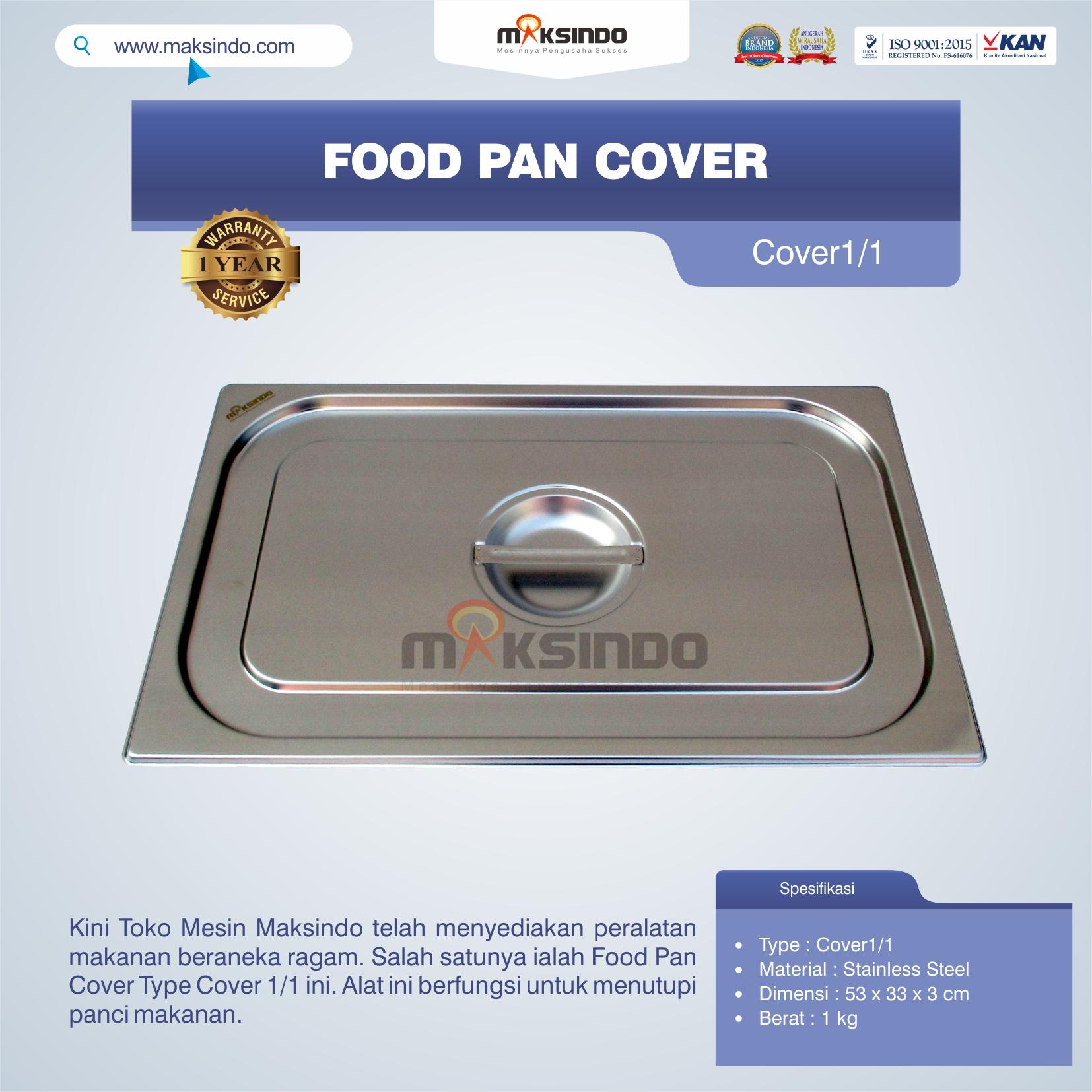 Jual Food Pan Cover Type Cover1/1 Di Bandung