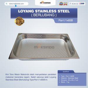 Jual Loyang Stainless Steel (Berlubang) Type Pan1/1x65B Di Bandung