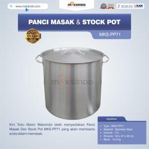 Jual Panci Masak Dan Stock Pot MKS-PP71 di Bandung