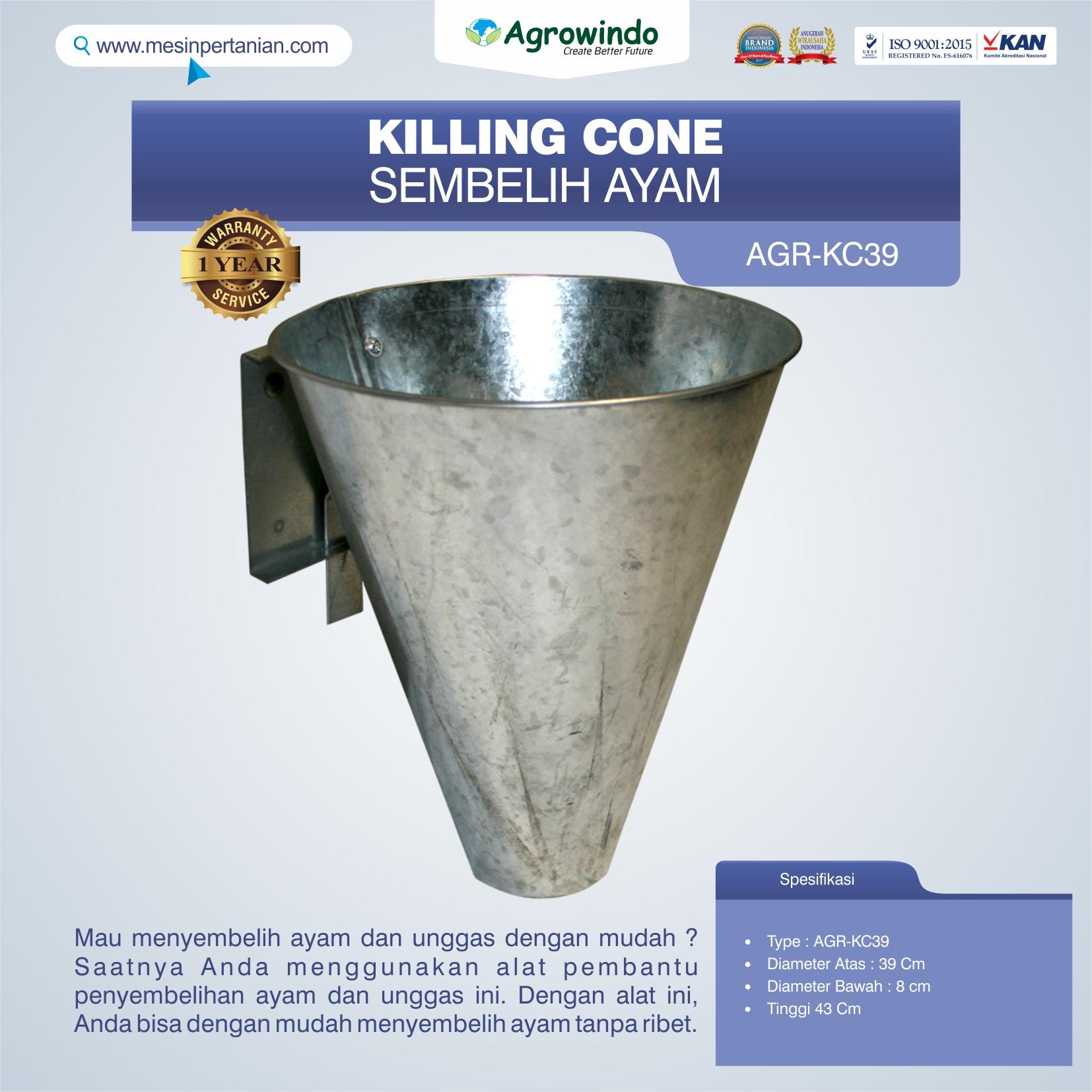 Jual Killing Cone Alat Sembelih Ayam di Bandung