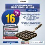 Jual Alat Cetakan Sate Telur Puyuh 16 Hole Ardin TKY16 di Bandung