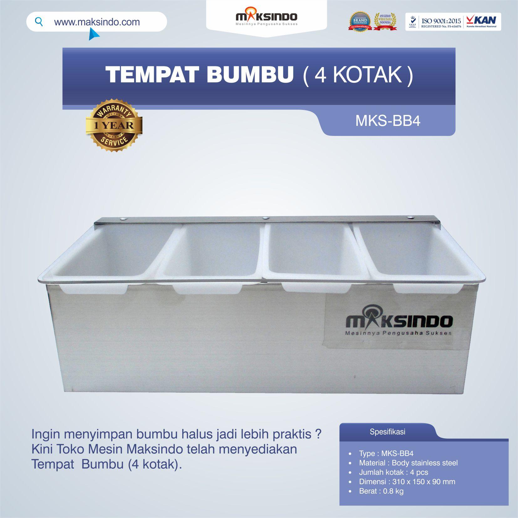 Jual Tempat Bumbu (4 kotak) di Bandung