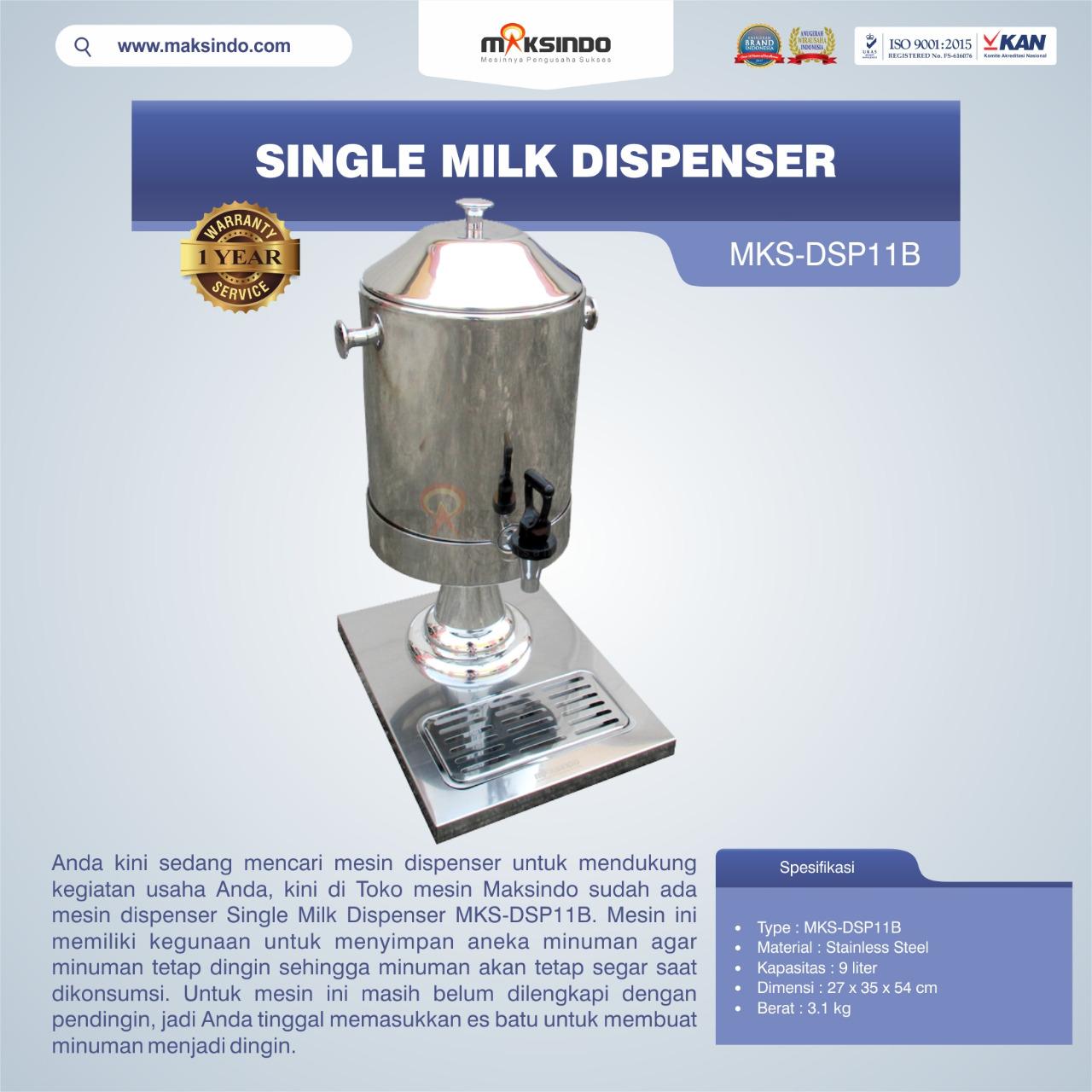 Jual Single Milk Dispenser MKS-DSP11B di Bandung