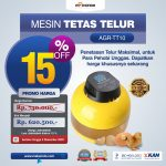 Jual Mesin Tetas Telur 10 Butir (AGR-TT-10) di Bandung