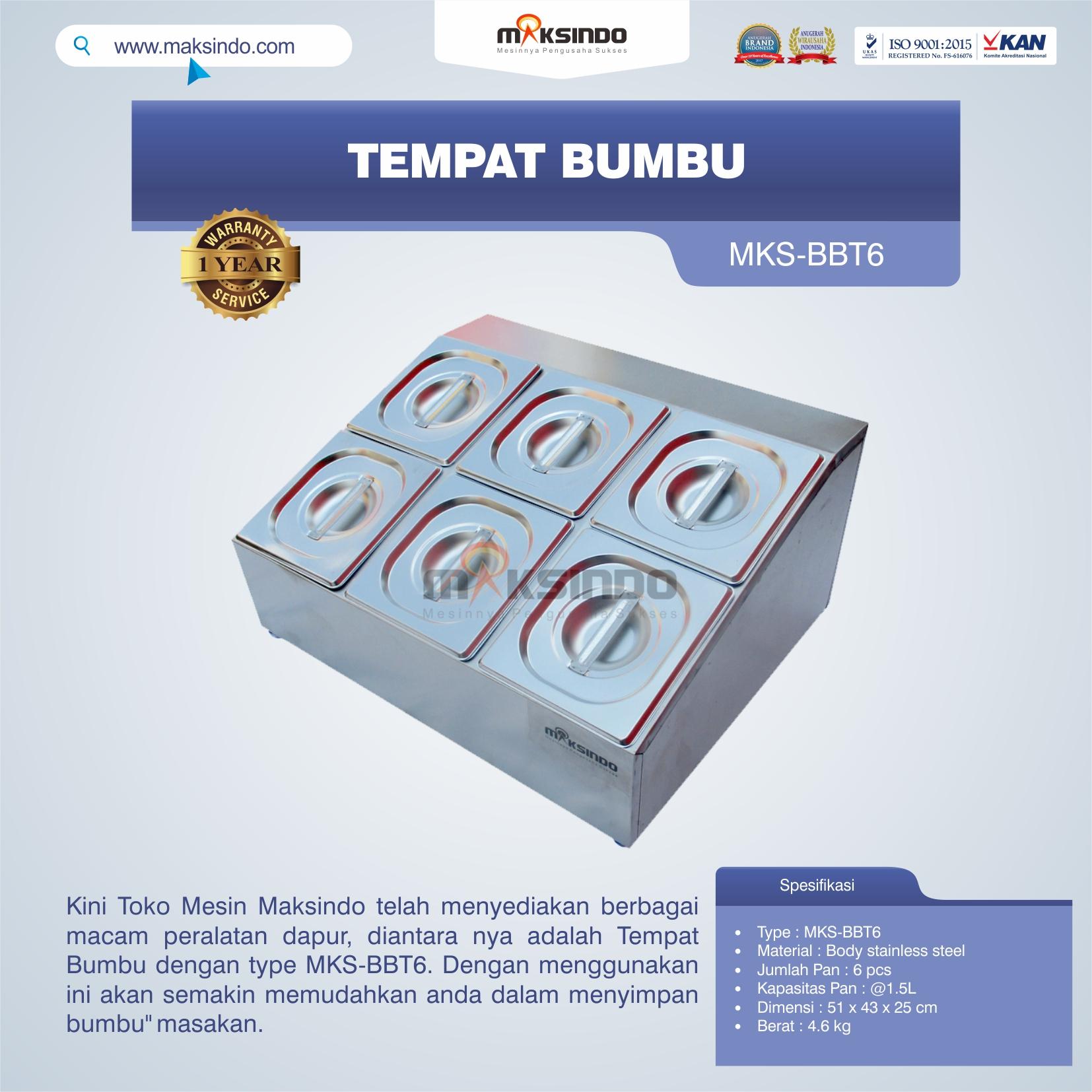 Jual Tempat Bumbu MKS-BBT6 di Bandung