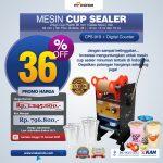 Jual Mesin Cup Sealer Manual CPS-919 di Bandung