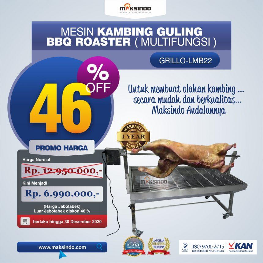 Jual Mesin Kambing Guling BBQ Roaster (GRILLO-LMB22) di Bandung