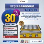 Jual Mesin Pemanggang Sate – BBQ 3 Tungku (Gas) MKS-369BBQ di Bandung