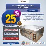 Jual Mesin Oven Roti Gas 2 Loyang (MKS-RS12) di Bandung