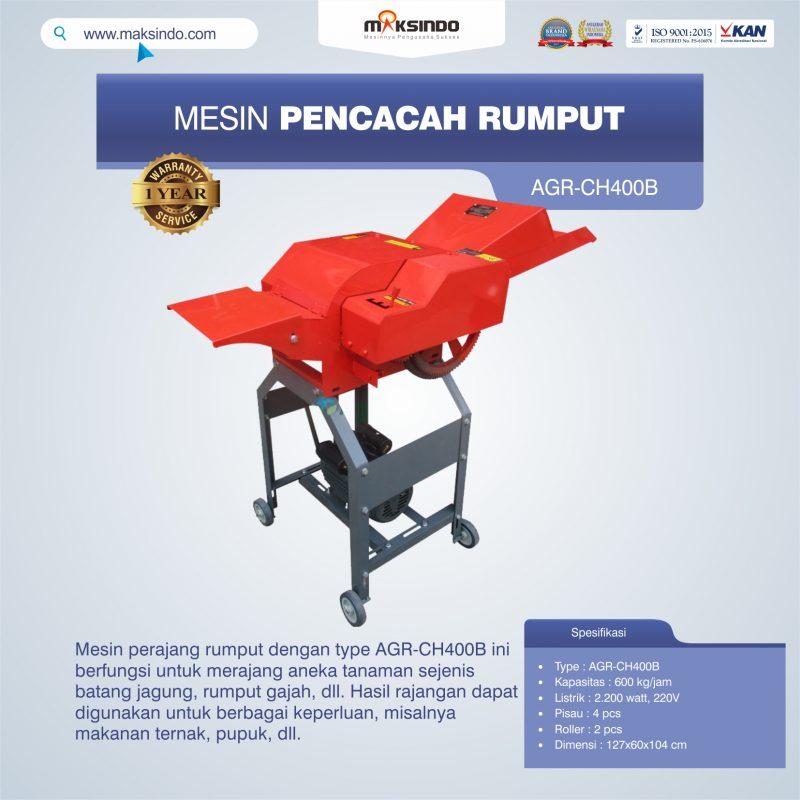 Jual Mesin Pencacah Rumput AGR-CH400B di Bandung