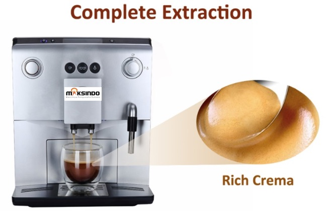 Jual Mesin Kopi Espresso Full Otomatis – MKP60 di Bandung