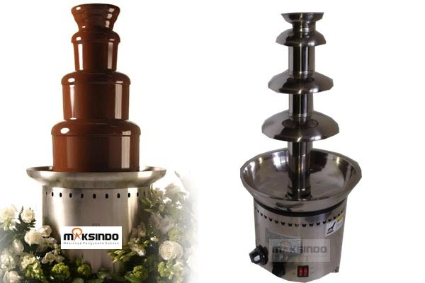Jual Mesin Chocolate Fountain 4 Tier (MKS-CC4) di Bandung