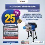 Jual Mesin Giling Bumbu Basah GLB220 di Bandung