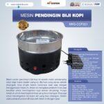 Jual Mesin Pendingin Biji Kopi MKS-CCF001 di Bandung