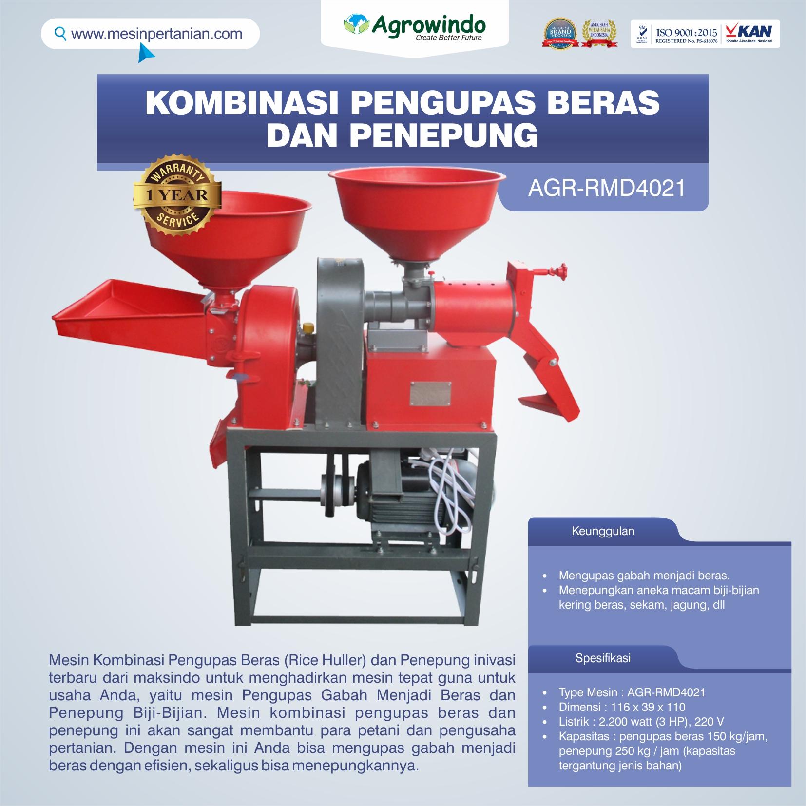 Jual Kombinasi Pengupas Beras dan Penepung di Bandung