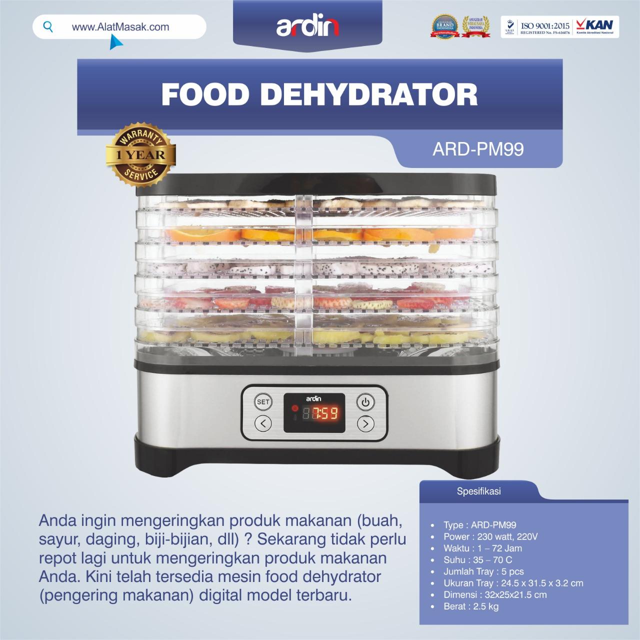 Jual Food Dehydrator ARD-PM99 di Bandung