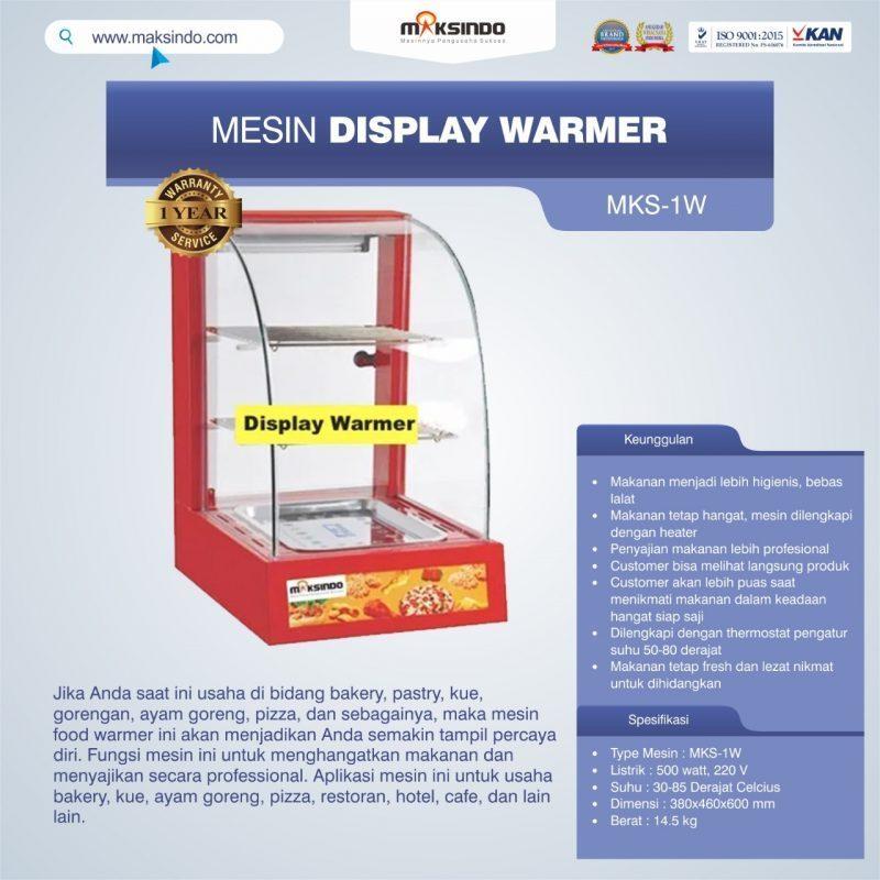 Jual Mesin Diplay Warmer (MKS-1W) di Bandung