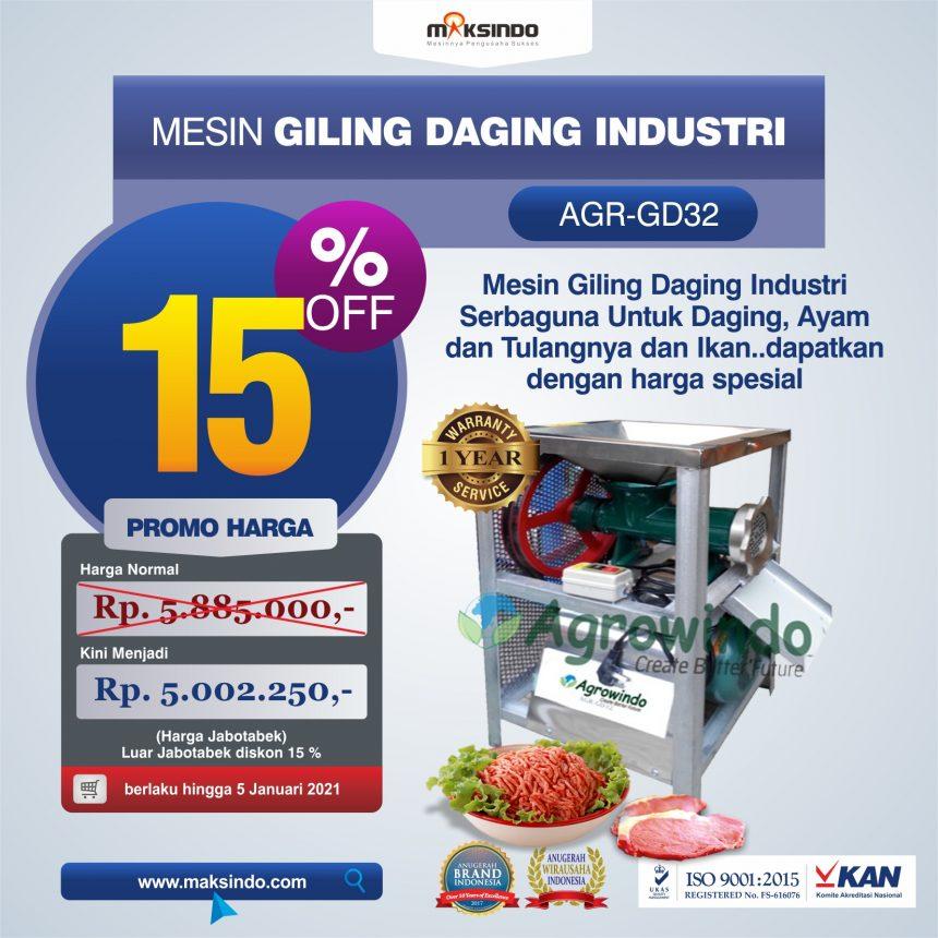 Jual Mesin Giling Daging Industri (AGR-GD32) di Bandung