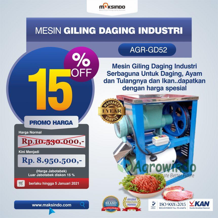 Jual Mesin Giling Daging Industri (AGR-GD52) di Bandung