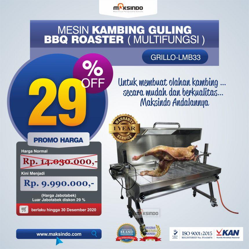 Jual Mesin Kambing Guling Gas (GRILLO-LMB33) di Bandung