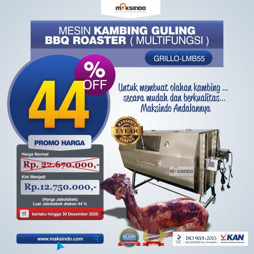 Jual Mesin Kambing Guling Double Location Roaster (GRILLO-LMB55) di Bandung