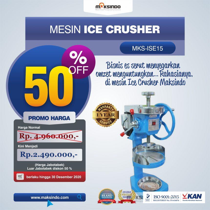 Jual Mesin Ice Crusher MKS-ISE15 di Bandung