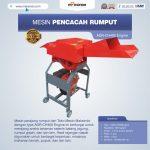 Jual Mesin Pencacah Rumput AGR-CH400 Engine di Bandung
