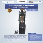 Jual Mesin Sangrai Kopi Listrik (Coffee Roaster) MKS-CRE200 di Bandung